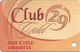 Spotlight 29 Casino - Coachella, CA USA - Slot Card - Logos On Back Above Punch Hole - Casino Cards