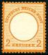 N°21, 2 K. Orange, TB - Germania