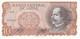 BILLETE DE CHILE DE 10 PESOS DE BALMACEDA DEL AÑO 1970 (BANK NOTE) SIN CIRCULAR-UNCIRCULATED - Chile