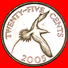 § BIRD: BERMUDA ★ 25 CENTS 2005 MINT LUSTER! LOW START★ NO RESERVE! - Bermudes