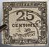 LOT R1510/133 - TIMBRE TAXE 1871 N°5 - CàD De CAEN (Calvados) - Cote : 65,00 € - 1859-1955 Mint/hinged