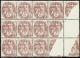 N° 1 08 (1ex*) Bloc De 12 Impression Incomplète  Qualité: ** Cote: ..... - Stamps