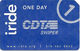 Paper Iride One Day CDTA Swiper Card - Transportation Tickets