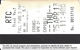 Paper RTC Ticket Southern Nevada Transit Ticket - Gold On Right - Text Under Mag Stripe - Transportation Tickets