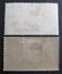 LOT R3586/909 - 1927 - COLONIES FR. - INDE - N°79 à 80 NEUF*/☉ - Unused Stamps