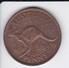 MONEDA DE AUSTRALIA DE 1 PENNY DEL AÑO 1949 CANGURO (KANGAROO) - Penny
