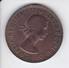 MONEDA DE AUSTRALIA DE 1 PENNY DEL AÑO 1963 CANGURO (KANGAROO) - Moneda Pre-decimale (1910-1965)