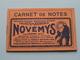 Carnet De Notes Novémys / Képhiline Pharmacies Genneau Bordeaux : Anno 1934 ( Zie Foto´s Voor Detail ) ! - Calendriers