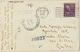 Real Photo Thibodaux Louisiana Governor F.T. Nickols Residence Born In Donaldsonville  1944 Censor To Santa Clara Cuba - Other