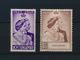 SINGAPORE - 16/17  COMMEMORATIFS DES NOCES D'ARGENT DES SOUVERAINS BRITANNIQUES - NEW STATE WITH SCARNIER - LOOK 2 SCANS - Singapore (...-1959)