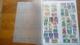 F0271 LOT FEUILLES COLONIES A TRIER BELLE COTE DÉPART 10€ - Stamps