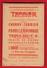 - PETIT CALEPIN - DISTILLERIE TERRIER BOURDIN - CHERRY TERRIER - PRUNELLE NIVERNAISE - FRAISE DE COSNE (Nièvre) - Advertising