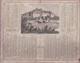 CALENDRIER   1874   ALMANACH  DES  POSTES  (  37  CHATEAU  D' AMBOISE  ) . (  2  SCANS R° V°  ) - Calendriers