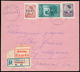 Co.Ci. Lettera-espresso Spedita Da Lubiana Per Città Il 26.4.41 Ed Affrancata Con Combinazione Di 2 Franco - Stamps