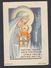 Rare Notre Dame Des Patros  Image Pieuse Religieuse Santini Holy Card Patro - Retraite Roux - Devotion Images