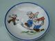 Dinette En Porcelaine Aux Motifs Cochon Souris - Jouets Anciens