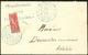 LETTRE Coupés. No 83A, Obl Cad 25 Août 04 Sur Petite Enveloppe De Diego Pour Antalaha. - TB - Madagascar (1889-1960)