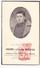 DP Foto Gesneuveld WO II Oorlog 40-45 J. Vlaeminck / Glorie & H. Bouve / Quaghebeur ° Vlamertinge Ieper † Hasselt - Images Religieuses