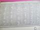 Agenda-Calendrier/Carnet Médical/Visites/1er Quadrimestre 1942/Labo.Drouet & Plet/RUEIL MALMAISON/ 1942           CAL359 - Calendriers