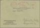Br Thematik: Alkohol / Alcohol: 1952/1955, 5 Firmen-Belege Teils Mit Vordruck , Alle Gebr. Mit Rotem Firmenfreistempel, - Wines & Alcohols