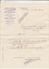 """Lettre  + Envel BANCAIRE De PARIS 22   Le 14 Dec 1910 Avec  """"  Timbre  PERFORE SG  10c Rouge  """" - France"""