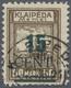 O Memel: 1923, 15 C. Grünaufdruck, Aufdrucktype I, Sauber Gestempelt, Kabinett, Signiert H.Köhler Und - Memel (Klaïpeda)