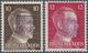 ** Deutsche Lokalausgaben Ab 1945: Wurzen, 10 Und 12 Pfg. Stichtiefdruck Mit Violettem Handstempelaufdr - Germania