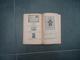 PETIT LIVRE IMPRIMERIE SPECIALE  EDOUARD BERCK  1900/1951 CONGRES UNION POSTALE UNIVERSELLE - Frankrijk