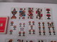 TAROT, DIVINATOIRE ,VOYANCE- CARTOMANCIE - ANCIEN  JEU - DAL NEGRO- 40 Cartes 10 Cm Sur 5,5  T B Etat - Tarots