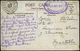412 Tarjeta Fechada En BAHIA (Brasil) Y Cda A MONTILLA - 1889-1931 Kingdom: Alphonse XIII