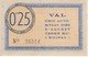 BILLETE DE 25 CENTIMOS DEL AJUNTAMENT DE SURIA DEL AÑO 1937 (SELLO SECO) SIN CIRCULAR    (BANKNOTE) - [ 2] 1931-1936 : República