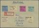 Br/GA Deutschland Nach 1945: 1945/1949 Ca., Kontrollrat, Lokalausgaben, SBZ: Gehaltvoller Sammlungsbestand - Collezioni