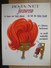 Carton Publicitaire Original (1960) - ROJA-NET Jeunesse La Laque Qui Tient Mieux & S'élimine Facilement. Illust: DELORME - Plaques En Carton