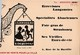 Carte Postale : La Bastille  (75)  Brasserie Bofinger Publicitaire   Fer Forgé Hansi - Cafés, Hôtels, Restaurants