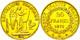 926 20 Francs, Gold, 1875, A (Paris), Fb. 592, Kl. Rf., Ss.  Ss - Non Classés