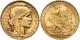 928 20 Francs, Gold, 1909, Gallischer Hahn, Ss/vz  Ss-vz - Non Classés