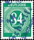 5921 SCHLEIFE (OBERLAUSITZ), 84 Pf. Ziffer, Tadellos Postfrisch, ARGE: 101 (Gruppe: 15), Außerordentlich Selten, Gepr. M - Zone Soviétique