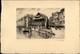 67 - STRASBOURG - Rue Du Bain Aux Plantes - Dessin De ROBIN - Dessin Signé à La Main - Vieux Papiers
