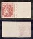 0219 REGNO - 1915/1916 - Prova D'archivio Del 10 + 5 Cent Croce Rossa (P102) - Bordo Foglio - Cert. AG (380) - Stamps