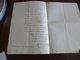 Alger 11/03/1851 LAS Autographe  Hugelman S'adresse Au Préfet Pour Permission D'éditer Sa Pièce écrite En Prison 23 X36 - Autographs