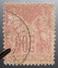 LOT R1510/238 - SAGE Type II N°104 - CàD : AILLY-SUR-NOYE (Somme) - 1876-1878 Sage (Type I)