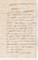 Lettre Sans Marque Postale De  TRESSAN Hérault 15/12/1853 Pour Montagnac - 1849-1876: Periodo Classico