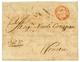 CONSTANTINOPLE : 1743 Cachet Orné Italien Sur Lettre Avec Texte De CONSTANTINOPLE Pour VENETIA. RARE. Superbe. - Non Classés