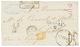 RUSSIA To GIBRALTAR : 1865 Entire Letter From ODESSA Via SPAIN To GIBRALTAR. Rare. Vvf. - Non Classés