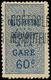 * ALGERIE Colis Px 7A : 60c. Bleu, TB - Algerien (1924-1962)