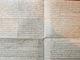 MEMOIRE MANUSCRIT MORTALITE DES CHEVAUX 1764 PAR PANENC D AIX EN PROVENCE DOCTEUR MEDECINE - Manuscrits
