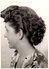 Photo Originale Coiffure Et Coiffeur Pour Coupe Mini Vague De Profil En Juillet 1953 - Rouleaux - Métiers