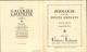 PUBLICITES - Petit Cahier édité Par Les Galeries Lafayette - Zoologie - Veau - Publicités