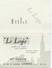 CALENDRIER PUB 1962 LE LOGIS HOTEL LOURDES -                                    TDA101 - Petit Format : 1961-70