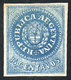 ARGENTINA: GJ.9, 15c. Blue, SPERATI FORGERY, Excellent And Rare! - Neufs